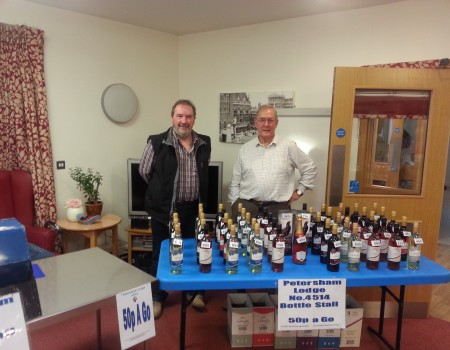 JTC Bottle Stall