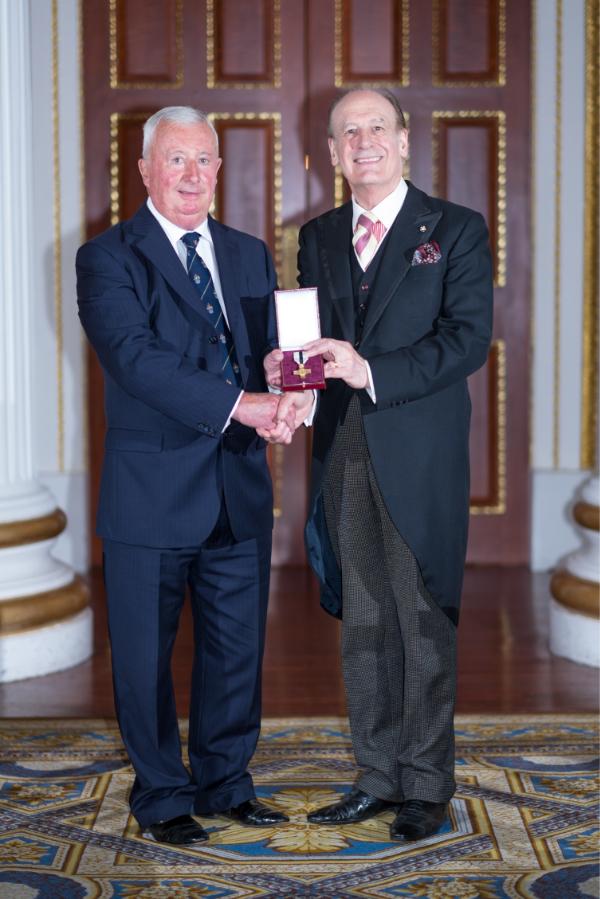 David Eager League of Mercy Award