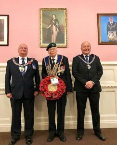 Surrey Freemasons Rememberance day