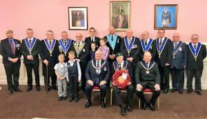 Surrey Freemasons on parade for Sutton rememberance service