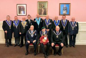 Sutton Freemasons Rememberance Day Service