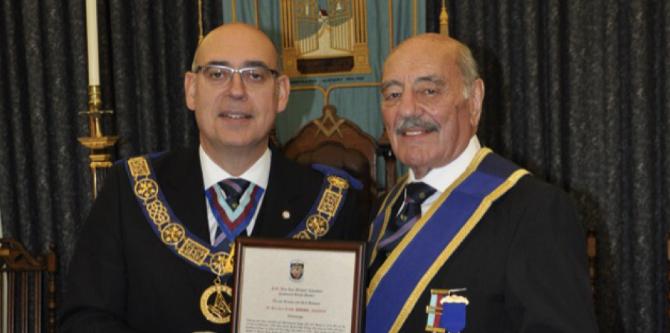 W. Bro E. Trodd 60 Year Certificate
