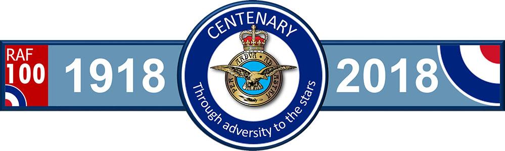 RAF 100 Years Old