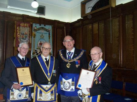 Molesley Lodge No.2473 125th Anniversary Meeting