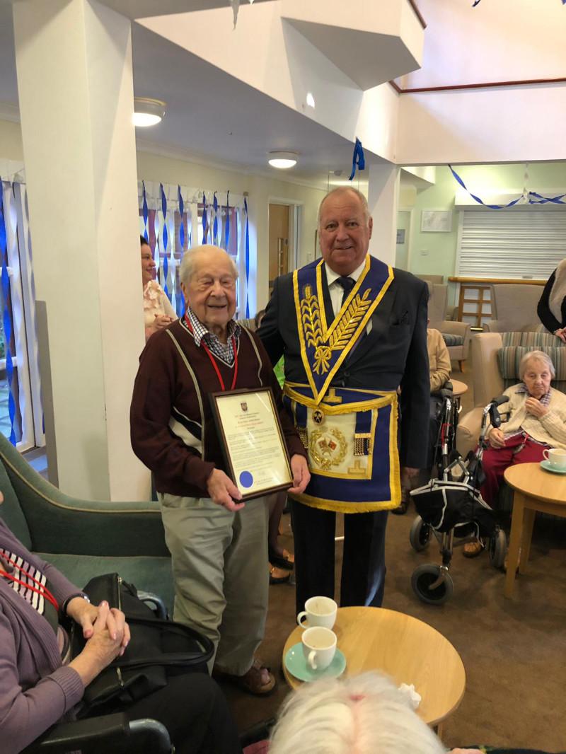 70 years in Freemasonry