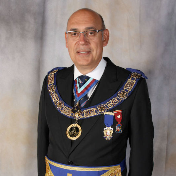 Provincial Grand Master - Ian Chandler