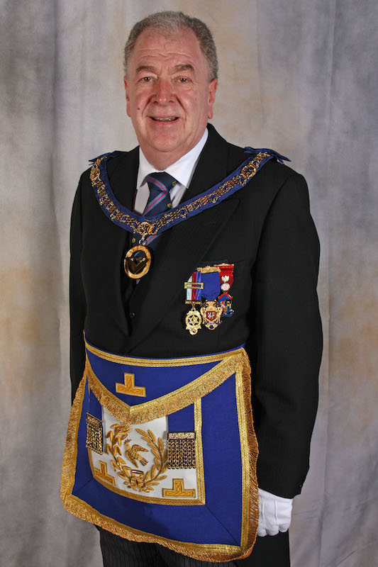 Assistant Provincial Grand Master of St George Group - W. Bro Bill Caughie, PSGD