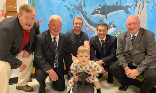 Surrey Freemasons donate to Croydon Hospital Childrens Ward