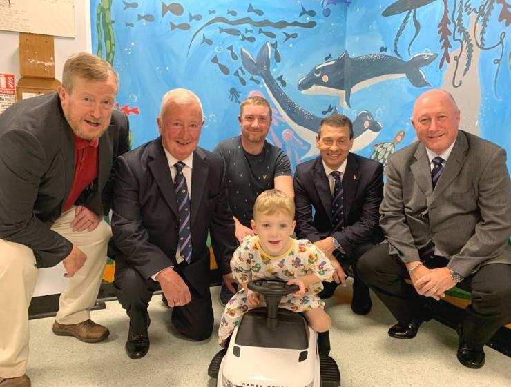 Surrey Freemasons donate to Croydon Hospital Childrens Ward