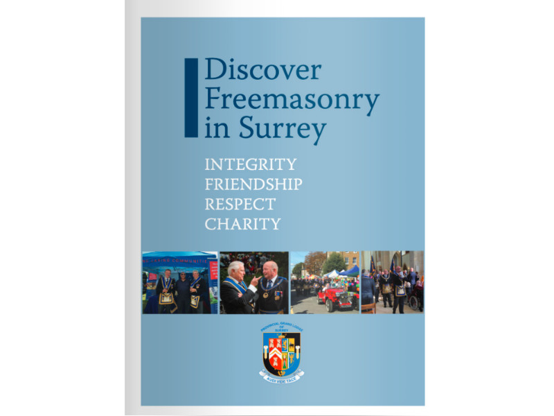 Discover Freemasonry in Surrey Brochure